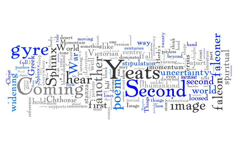 The Second Coming Word Cloud