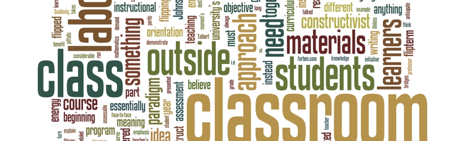 Flipping the Classroom Word Cloud